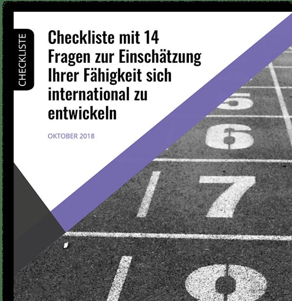 checkliste einschätzung ihrer fähigkeit sich international zu entwickeln.