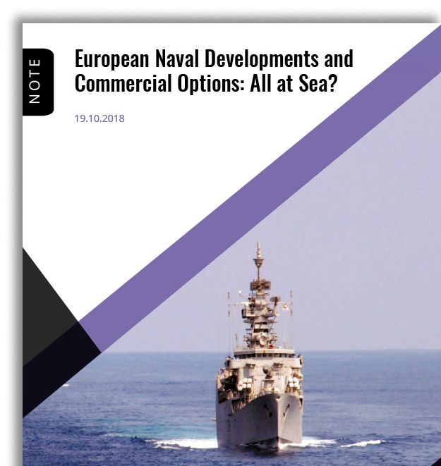 european naval developments and commercial options